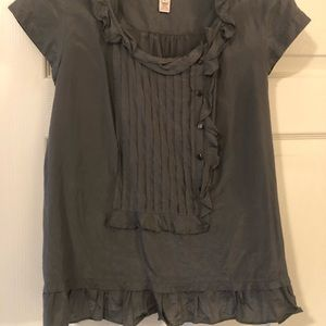 Silk/Cotton J Crew Blouse